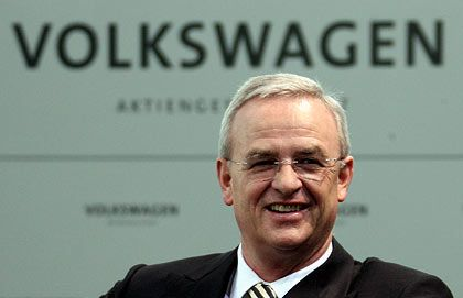 Große Pläne: Volkswagen-Chef Winterkorn
