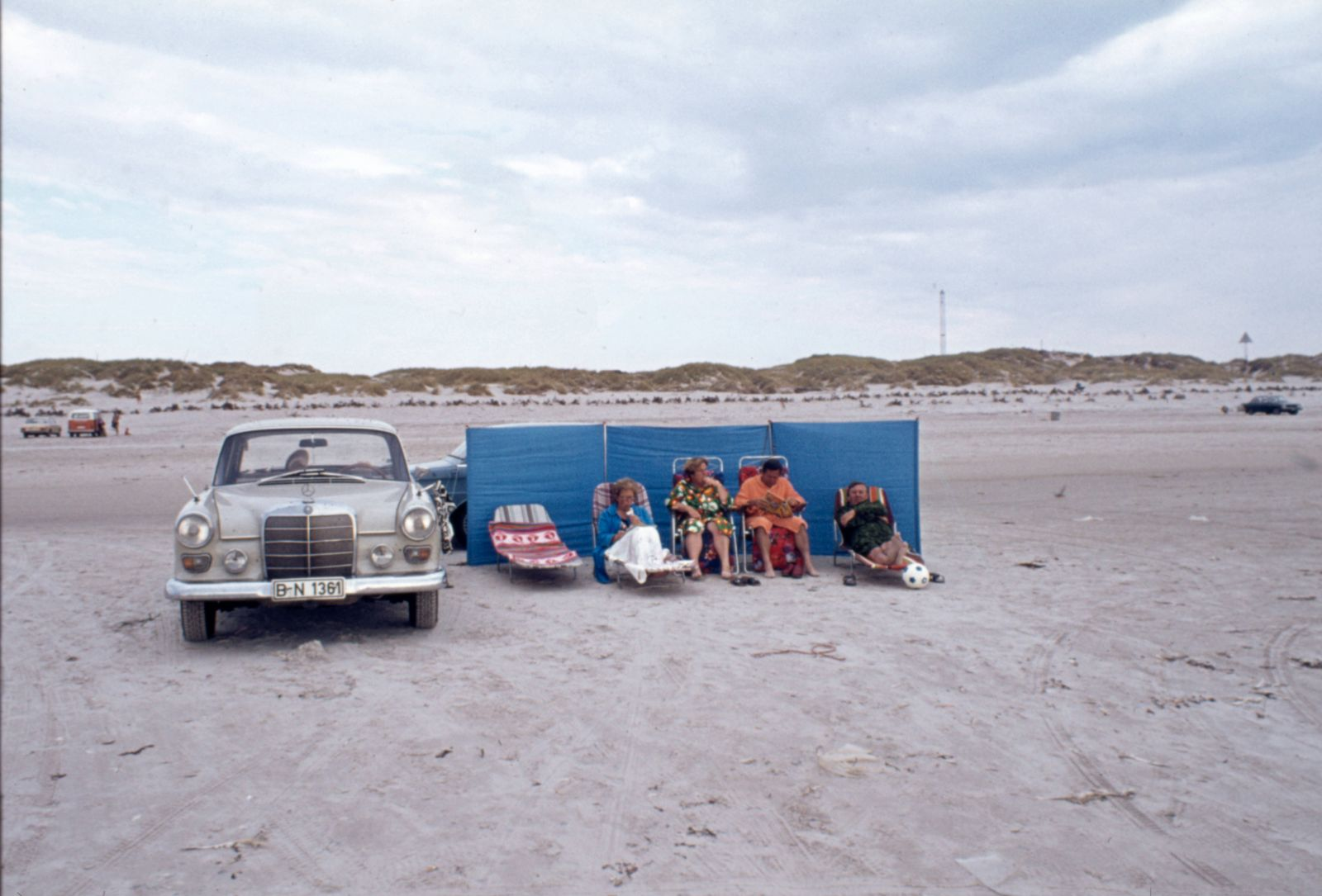 Camping GER, 20210108, Aufnahme ca.1962, Strandleben *** Camping GER, 20210108, photo ca 1962, beach life