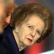 Margaret Thatcher: Vertrauen auf Friedmans Rat