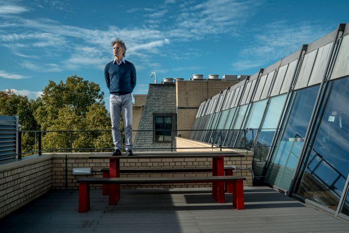 Mister Liberty: Alex Karp stilisiert sich als Kämpfer für westliche Werte