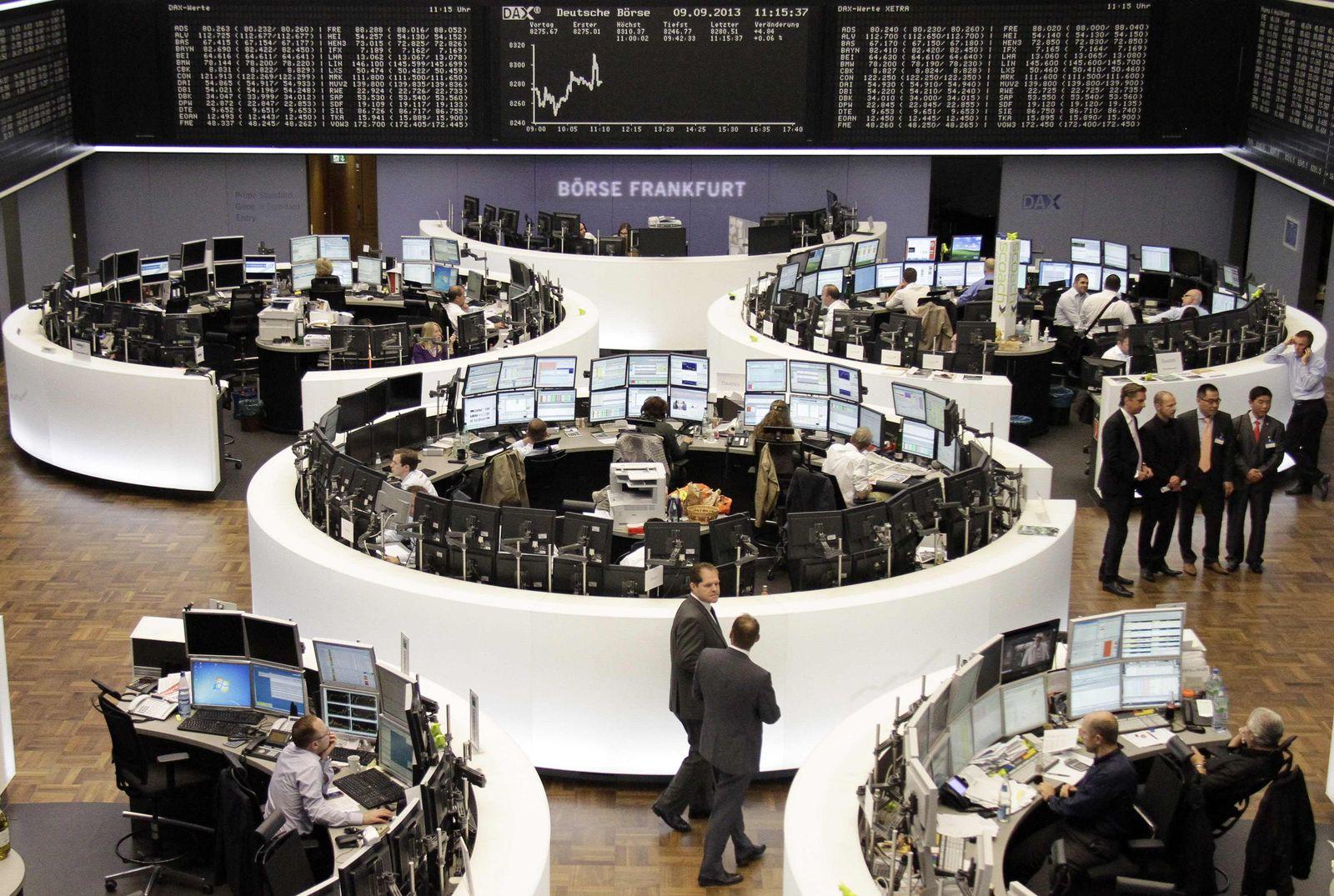Börse Frankfurt / DAX / positiv / steigt