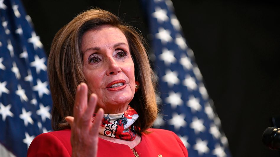 """Eine unmittelbare Bedrohung"": Repräsentantenhaus-Sprecherin Nancy Pelosi über Noch-Präsident Donald Trump"