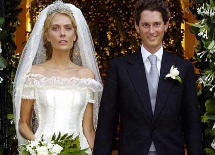 Die Ehefrau: Jaki Elkan und Lavinia Borromeo sind seit 2004 verheiratet