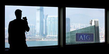 AIG-Niederlassung in Hongkong: Der Konzern stößt Asien-Töchter ab
