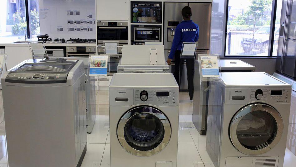 Samsung-Waschmaschinen: 2,8 Millionen Geräte ruft der Konzern in den USA zurück