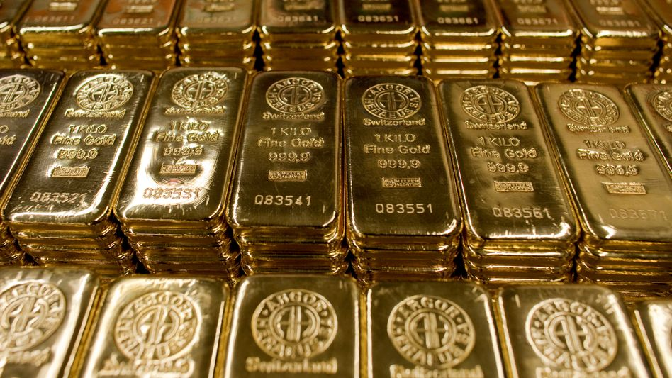 Begehrte Ware: Anleger stecken seit Wochen viel Geld in den Goldmarkt.