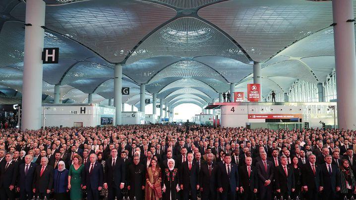 Giga-Bauprojekte der Luftfahrt: Erdogans Mega-Flughafen im Vergleich