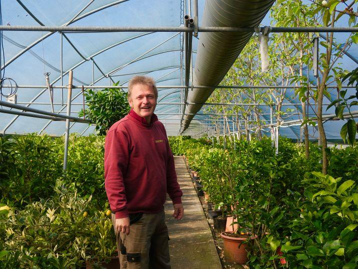 Rito Eisenhut ist Eigentümer des gleichnamigen botanischen Gartens im Tessin.