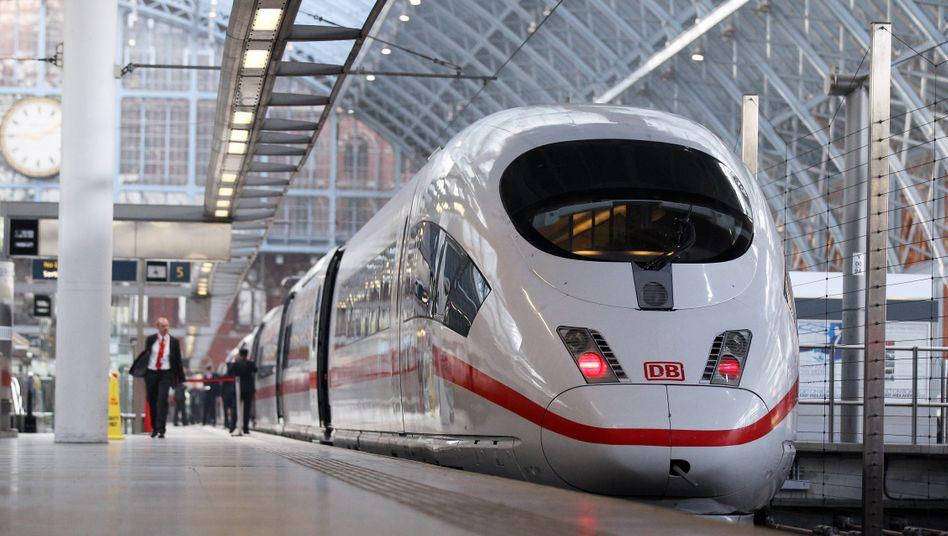 Siemens-Schnellzug ICE: Die Industrie leidet unter Auftragsflaute bei Fernzügen