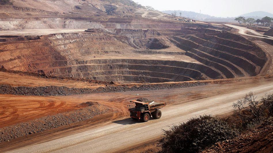 Kupfer- und Kobaltmine in Mutanda/Kongo.