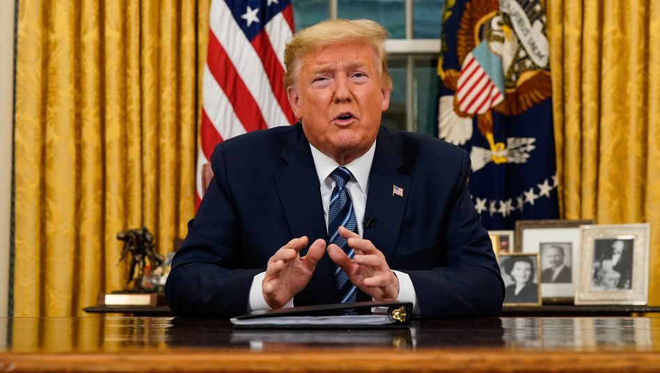 Überfordert: US-Präsident Trump hatte die Bedeutung des Coronavirus lange heruntergespielt