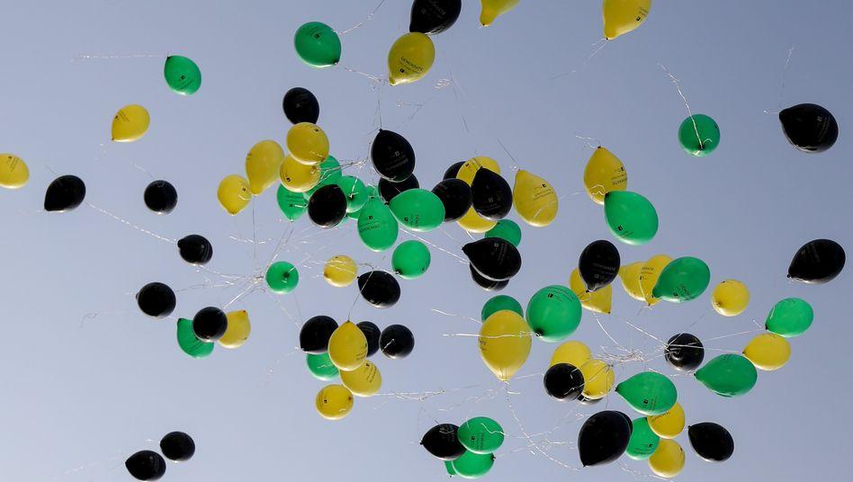 Die Preise für Helium heben ab. Das Gas wird unter anderem in Luftballons verwendet