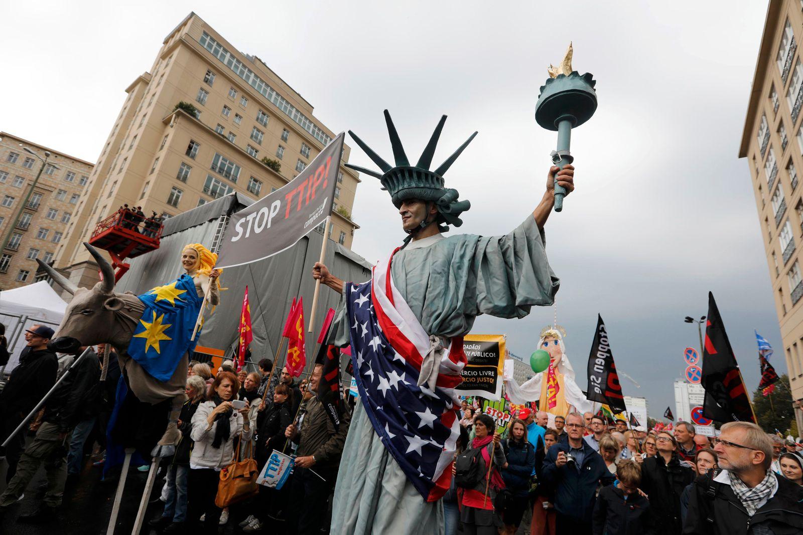Ceta/ TTIP/ Demo