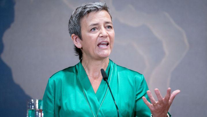 Google, Apple, Amazon: Wen Vestagers Wahl zur Weißglut bringt