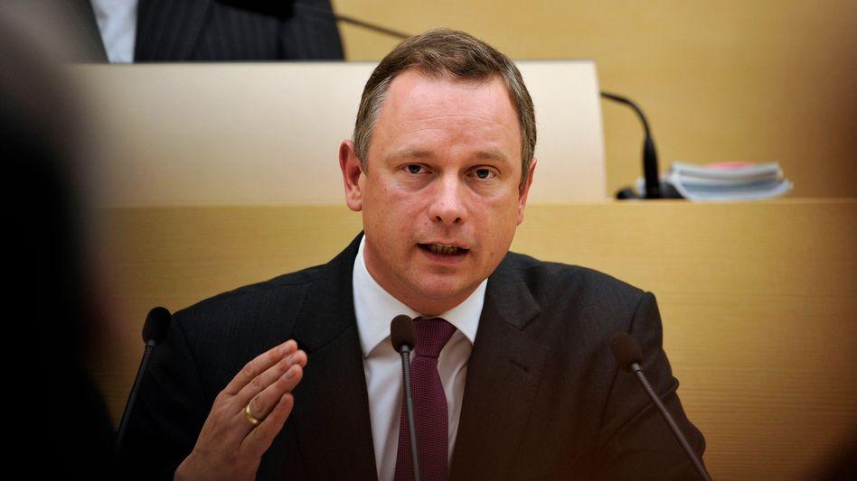 Noch-Politiker mit steiler Karriere: Bayerns Finanzminister Georg Fahrenschon