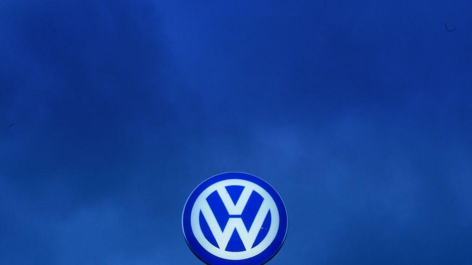 Volkswagenwerk in Wolfsburg: Gesunkener Unternehmenswert durch Imageschaden