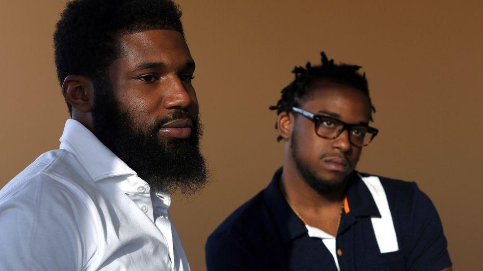 Rashon Nelson (links) und Donte Robinson waren in Philadelphia festgenommen worden