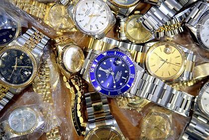 Begehrte Ware: Rolex kämpft gegen gefälschte Markenuhren