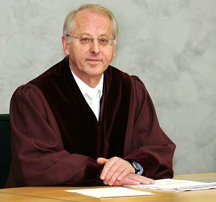 Prozess: Der Vorsitzende Richter des BGHs, Armin Nack, entschied gegen die Haffa-Brüder