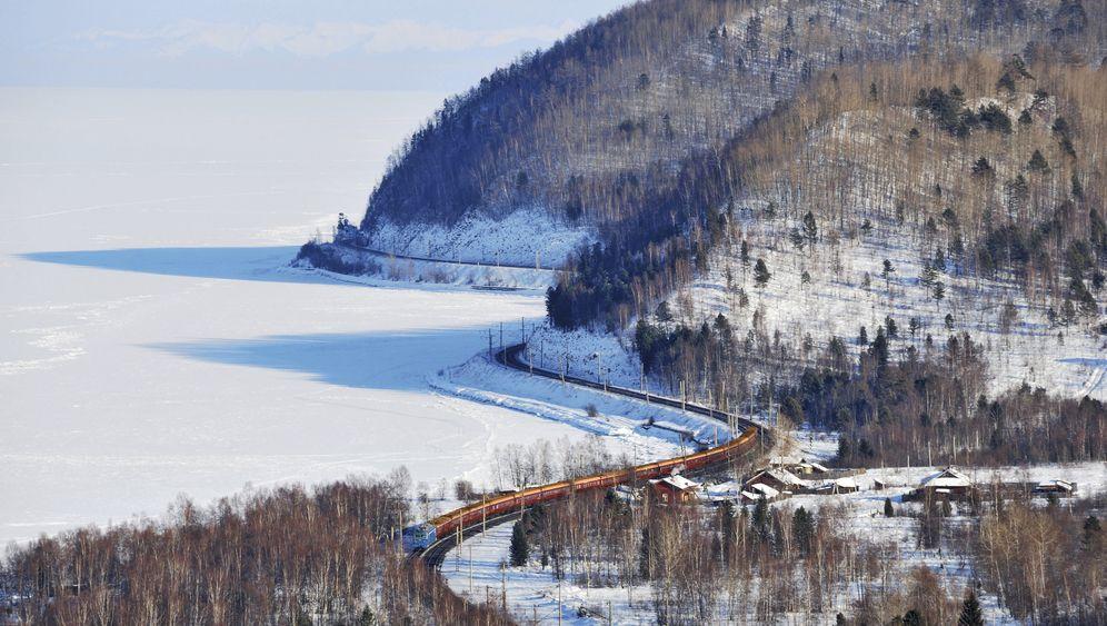 Transsibirische Eisenbahn: So ist die Fahrt im Winter