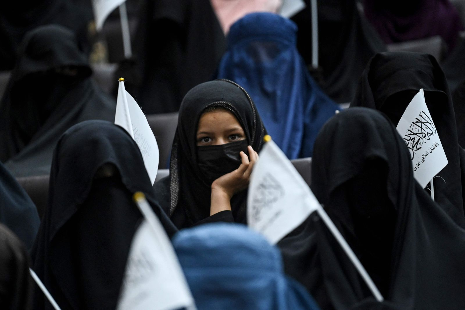 AFGHANISTAN-CONFLICT-DEMONSTRATION-WOMEN