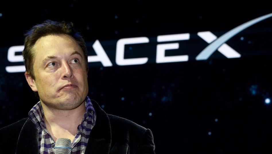Elon Musk: Mit Tesla derzeit weniger Freude als mit Space X