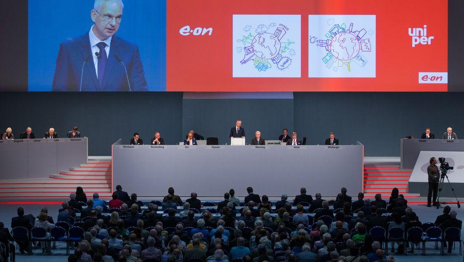 Eon: Auf der Hauptversammlung Anfang Juni wurde die Aufspaltung als Neubeginn gefeiert