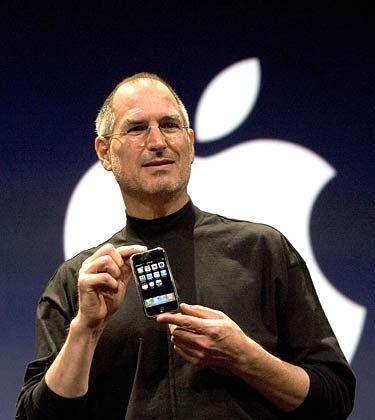 """Apple-Chef Jobs: """"Jetzt freuen wir uns auf ein starkes Dezember-Quartal"""""""