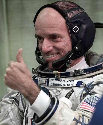 """Der erste Kunde: Milliardär Dennis Tito ließ sich seine Reise ins All mit Eric Andersons Firma """"Space Adventures"""" vor sechs Jahren 20 Millionen Euro kosten"""