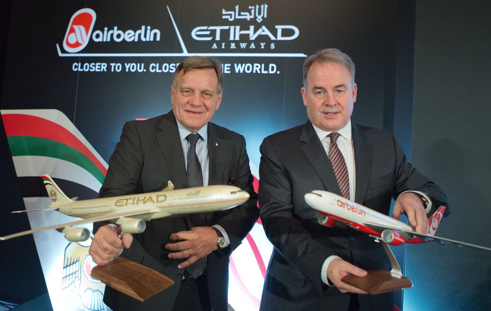 Air Berlin/ Etihad Airways