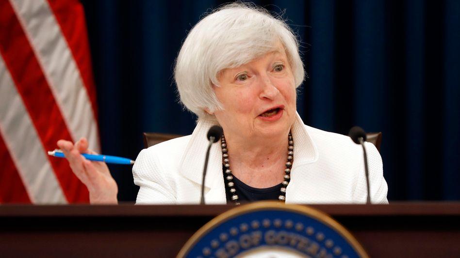 Janet Yellen: Eine Zinserhöhung im Dezember könnte die letzte wichtige Amtshandlung der Fed-Chefin sein, deren Amtszeit im Februar ausläuft