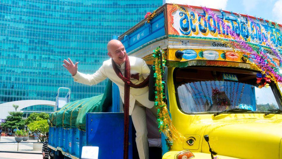 Jeff Bezos, Gründer und Chef von Amazon