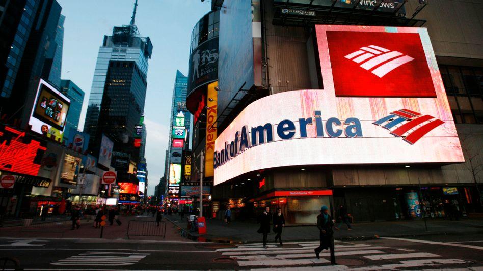 Bank of America: Neue Ermittlungen gegen US-Großbanken