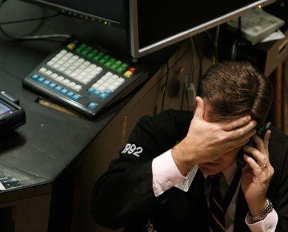 Gefährliche Entwicklung: Händler an der New Yorker Börse