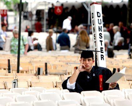 Was nun? Diese Frage dürfte sich nicht nur dieser Harvard-Student angesichts der Folgen der Finanzkrise stellen
