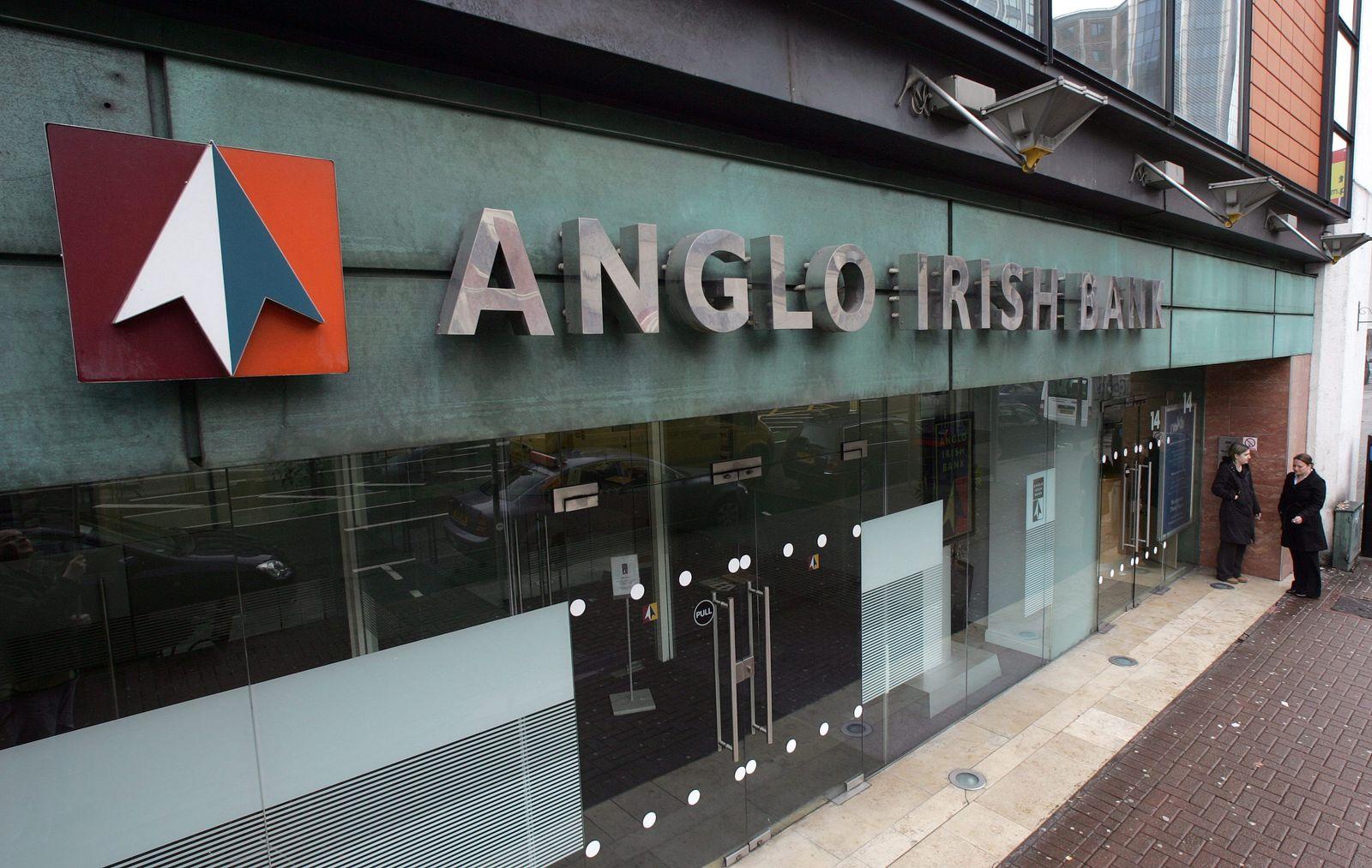 Marode ehemalige Anglo Irish Bank wird liquidiert
