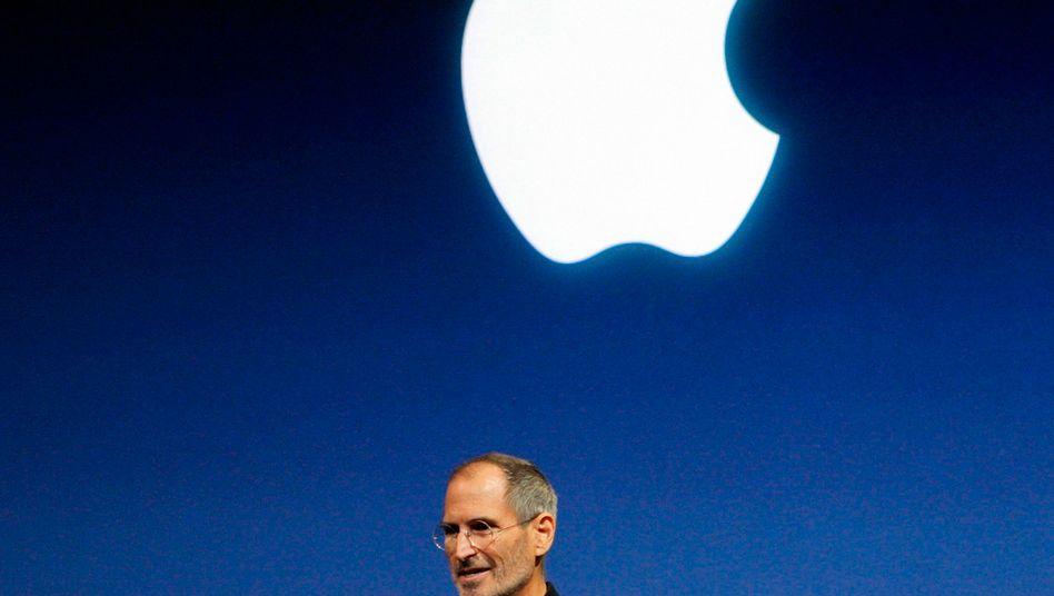 """Steve Jobs: """"Ihr müsst die Dinge tun, von denen ihr überzeugt seid, dass sie gut sind."""""""