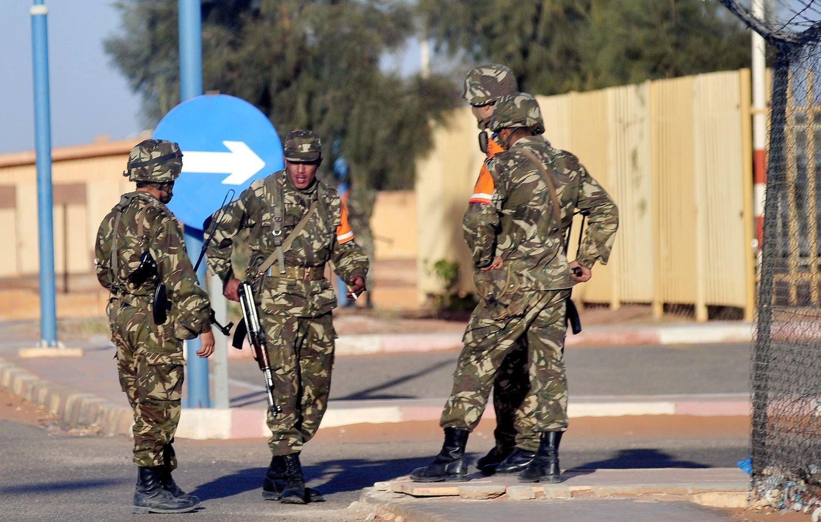 Algerien / Sicherheitskräfte