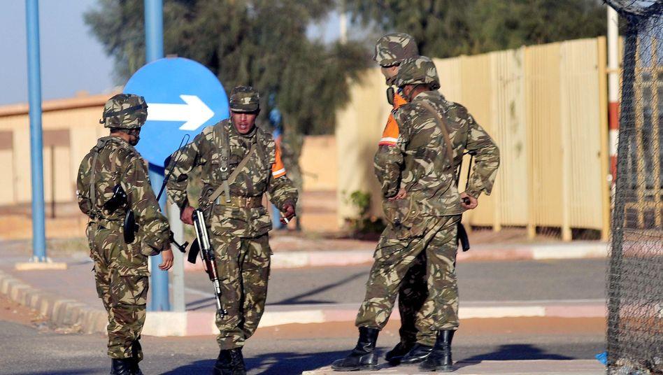 Algerische Sicherheitskräfte in Amenas: Die Geiselnahme auf dem Gasfeld kostete viele Menschen das Leben