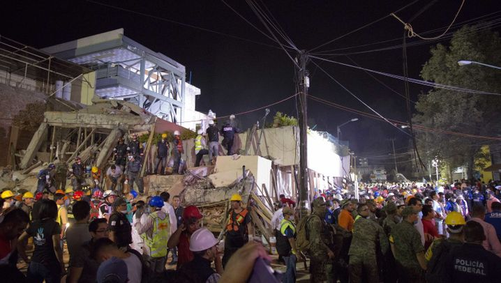 Nahe der Hauptstadt: Mexikos Erde bebt erneut