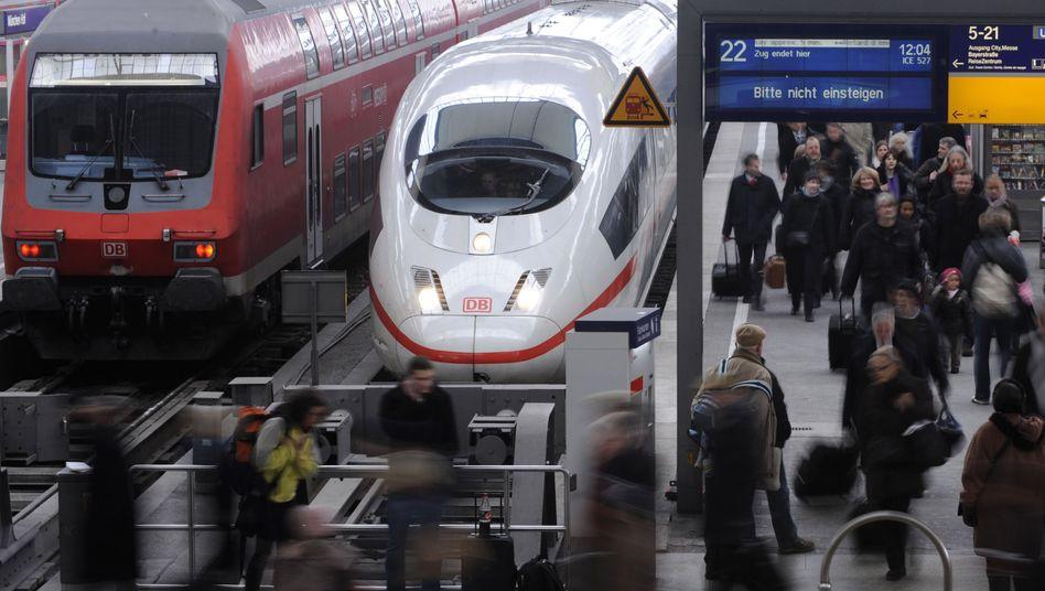 Bahn-Flaggschiff ICE:Das Staatsunternehmen ändert die Bonuspunkte-Politik