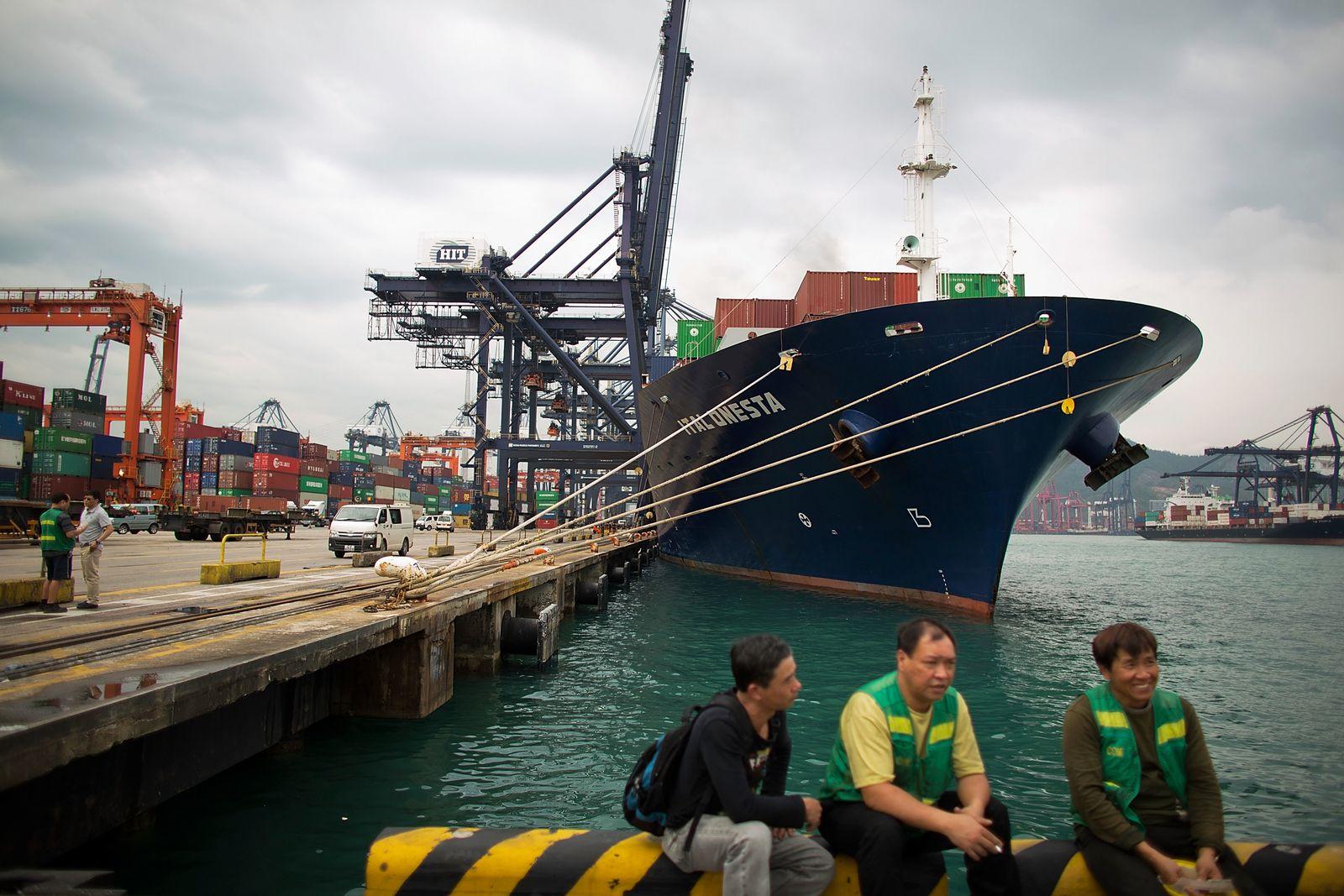 China / Containerschiff / Konjunktur / Handel / WTO