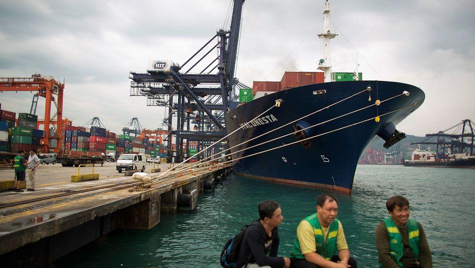 Hafen von Hongkong: China ist der größte staatliche Gläubiger weltweit
