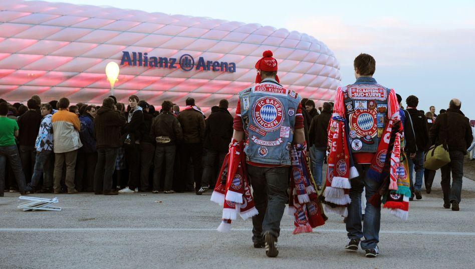 Bayern-Fans: Hoffentlich Allianz versichert?