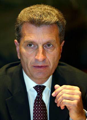 """""""Pendlerpauschale erhalten"""": Günther Oettinger, Ministerpräsident in Baden-Württemberg"""