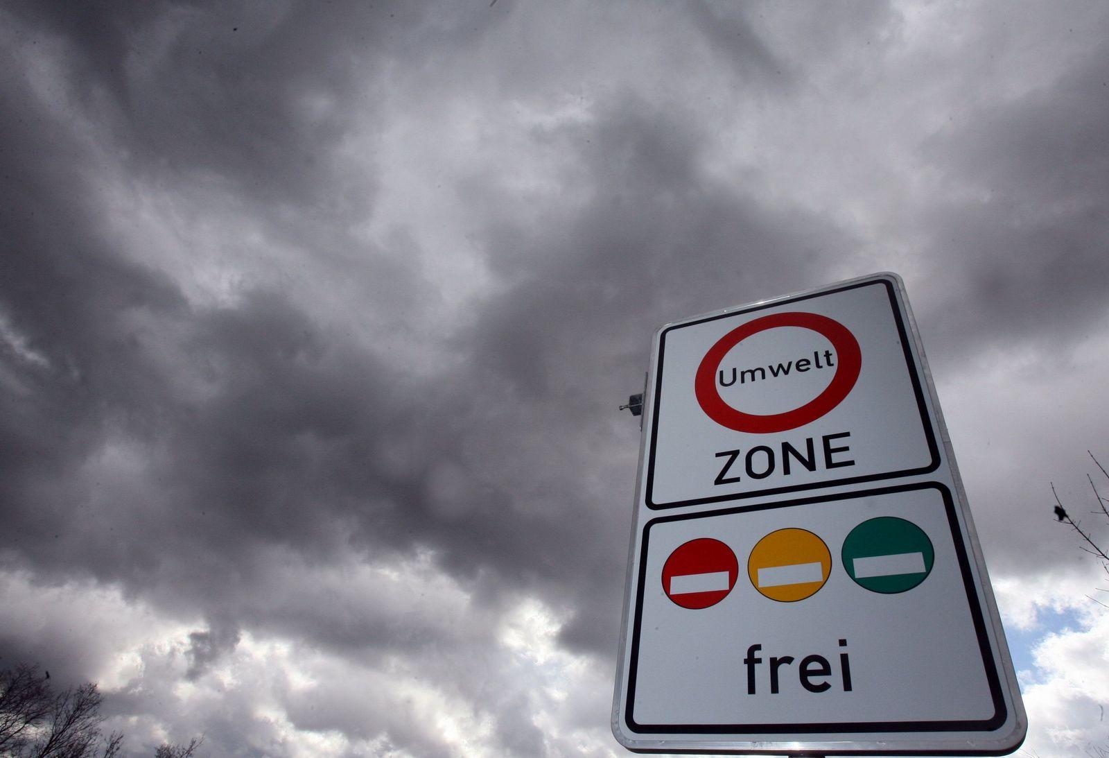 Feinstaubwerte 2011 / Umweltzone