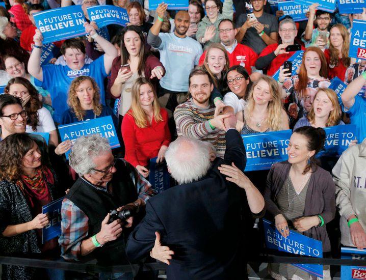 """Liebling der Massen: Der """"demokratische Sozialist"""" Bernie Sanders"""