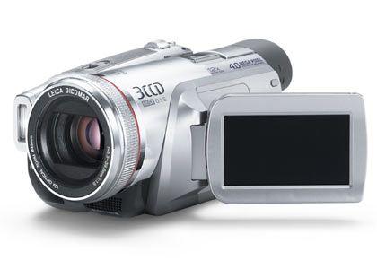 Panasonic 3CCD Camcorder NV-GS500: Das Gerät setzt bei den Speichermöglichkeiten auf größere Vielfalt