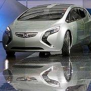 Experimente mit Elektromotoren: Der Opel Flextreme - die Studie war auf der IAA 2007 zu sehen