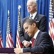 Abgesegnet: US-Präsident Obama und sein Konjunkturprogramm